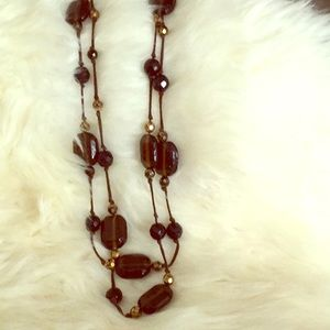 Designer Erickson Beamon Triple Length Necklace